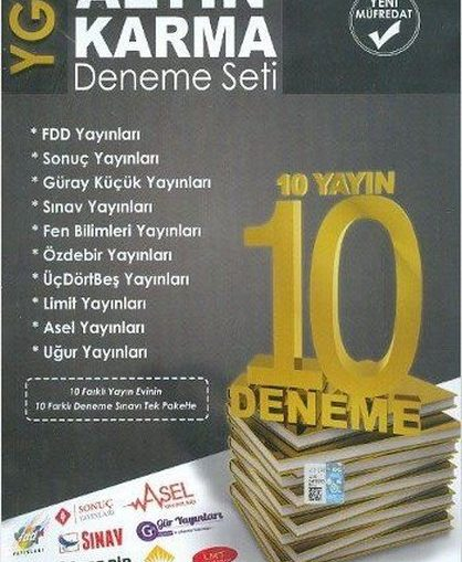 YGS Deneme Seti 10 Yayın 10 Deneme Pdf Kitap İndir
